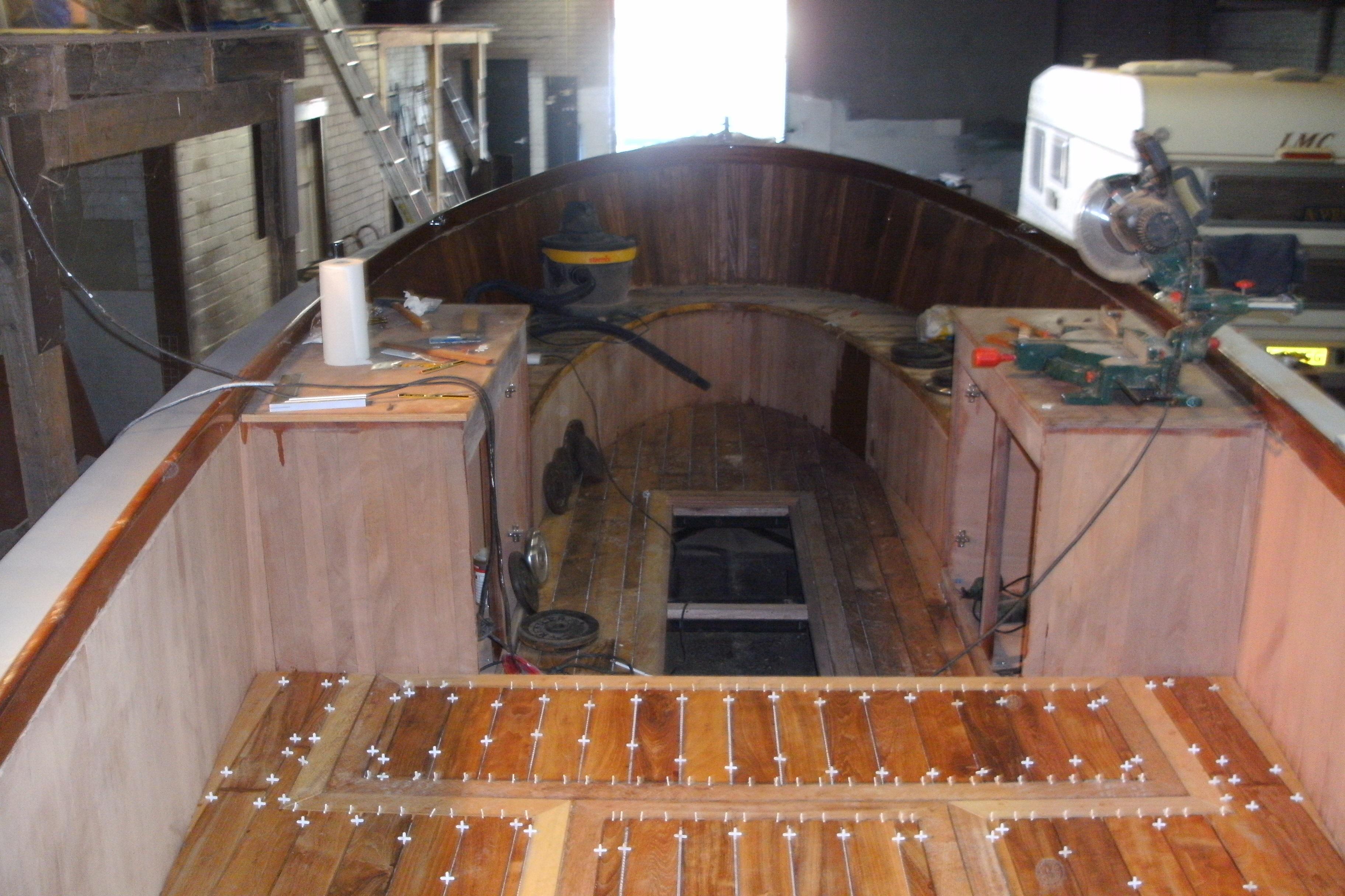 Verbouwing interieur